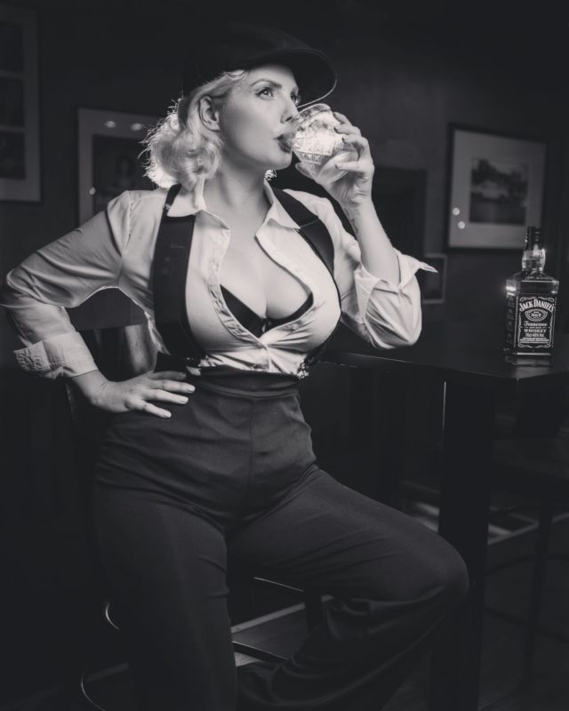 Sometimes you just need a stiff drink and to re asses the situation @jackdaniels_uk helping me do just that at @proudcabaret. . . It was mental health awareness day yesterday I didn't post because I have a epilogue of thoughts on mental health being as I suffer myself so maybe I'll make a YouTube video instead some day what do we think ?  . . Times are tough for many of us and we're all finding ways to cope with these strange new stresses and anxieties that are for the most part out of our control. But I beg you please don't beat yourself up , over worry or over think it !  . . Take it back to simple things to help you cope with these current pressures , take a walk in nature if you can , cook yourself something hearty if you can and most importantly take some time to care for you. Be that a bubble bath , a good book or some uplifting music anything that helps ease your mind and feed your soul. Trust me it's crucial right now. . . Remember the sun always shines again even after the darkest nights. We will get though it , be kind to your self and each other 🙏🏻💞 . . Photo by @blacklockiain  . #drinks #whisky #jackdaniels #proudcabaret #blackandwhitephotography #peakyblinders #peakyblindersstyle #mindset #mindfulness #selfcare #bestrong #yougotthis #hangoninthere #together #mentalhealthawareness #whiteshirt #londonlifestyle #modellife #sundayvibes #sundaymotivation #retroaesthetic #vintagestyle