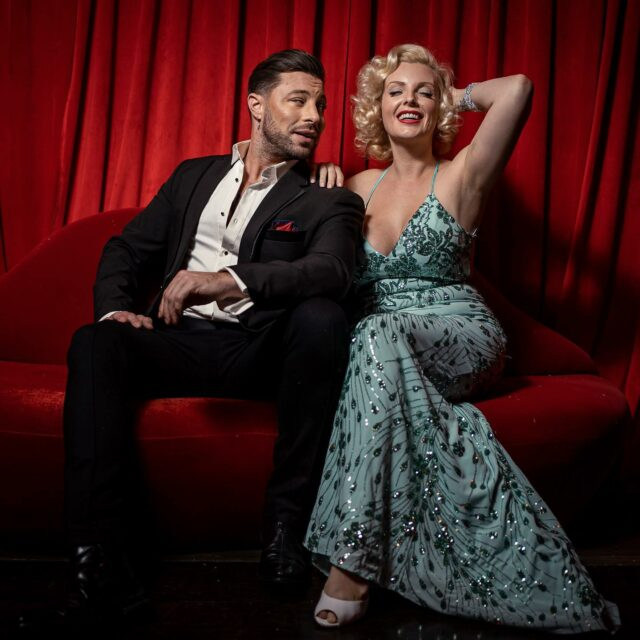 Can't wait to get back on stage with this handsome hunk @mrduncanjames it's going to be glorious. . . Save the date 20th May we re-open with a brand new killer show with the amazing cast of Cabaret All Stars @proudcabaret  . . Dates are selling out fast so be sure to get booked in. I have a special discount code for you to use ISABELLA15 to get 15% off limited tickets. . . Photo by @ianbowkett  . . #duncanjames #blue #handsome #blondehair #cabaretshow #londonshow #westend #londonlife #doubletrouble #greendress #comedyduo #duets #cabaretburlesque #showgirl #vintagevibes #fridayfeeling #fridaymood #discountcode